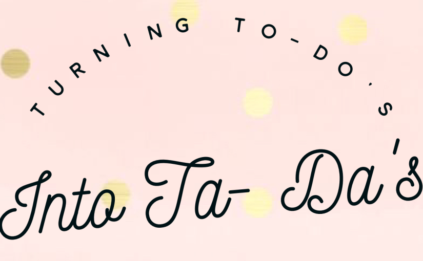 A Procrastinator's Guide To Tackling The To-Do List: BloggingEdition